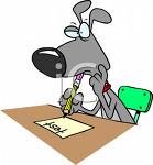 Dog Taking Test